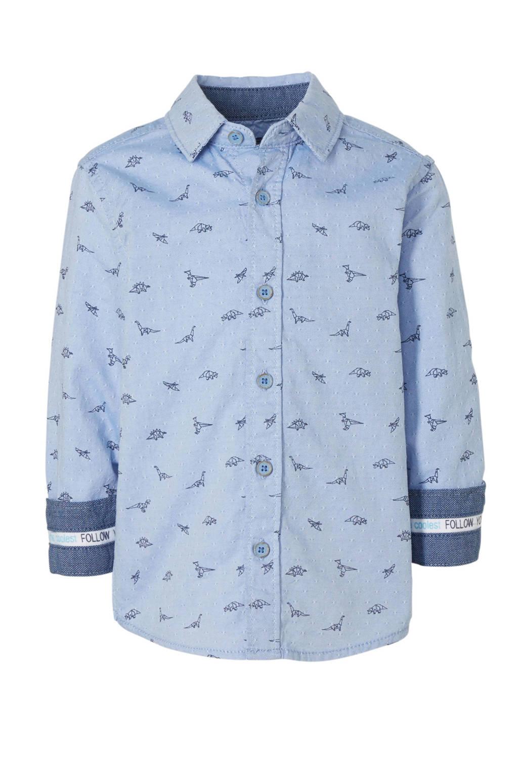 C&A Palomino overhemd met all over print blauw, Blauw
