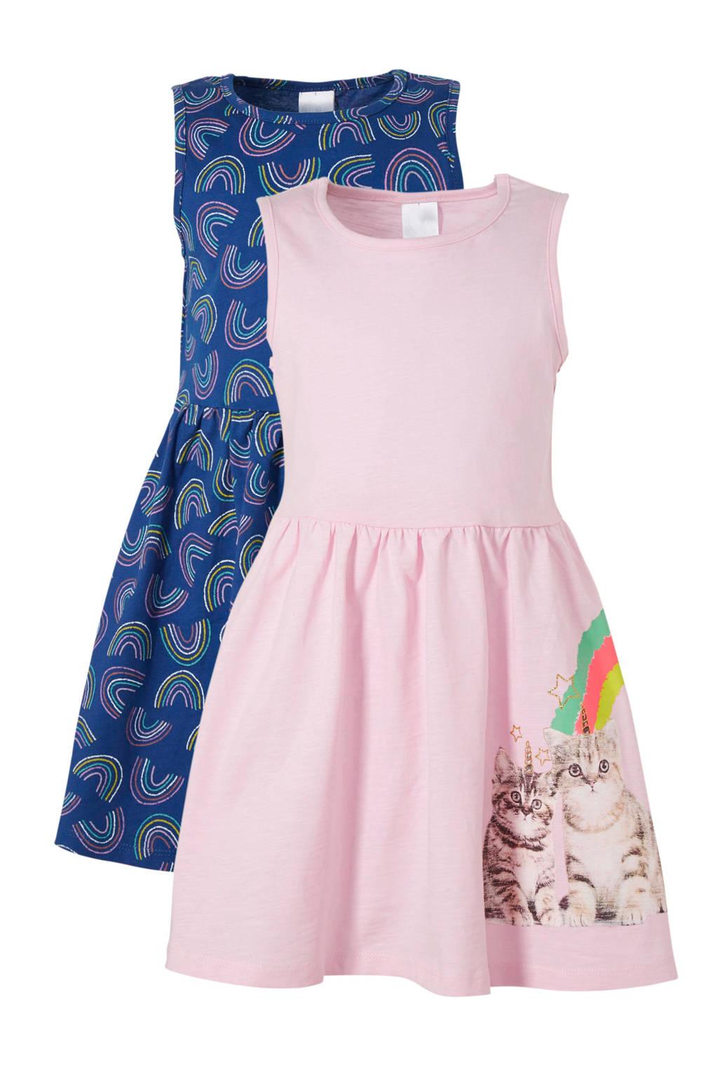 C&A Palomino jurk - set van 2, Lichtroze