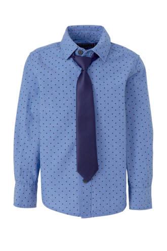Palomino overhemd met sterren blauw
