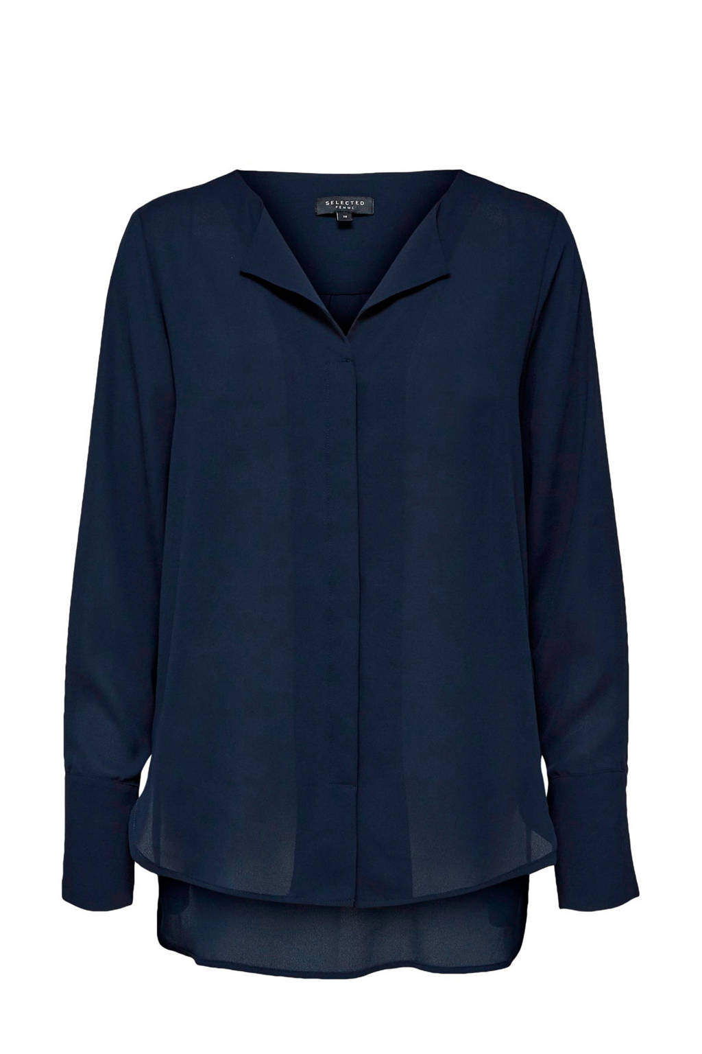 SELECTED FEMME blouse donkerblauw, Donkerblauw