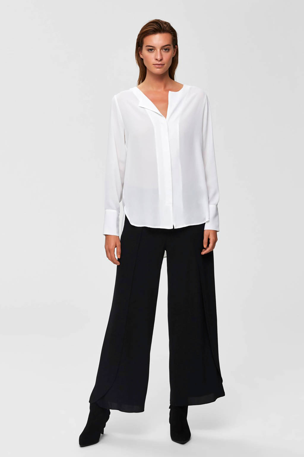 SELECTED FEMME blouse ecru, Ecru