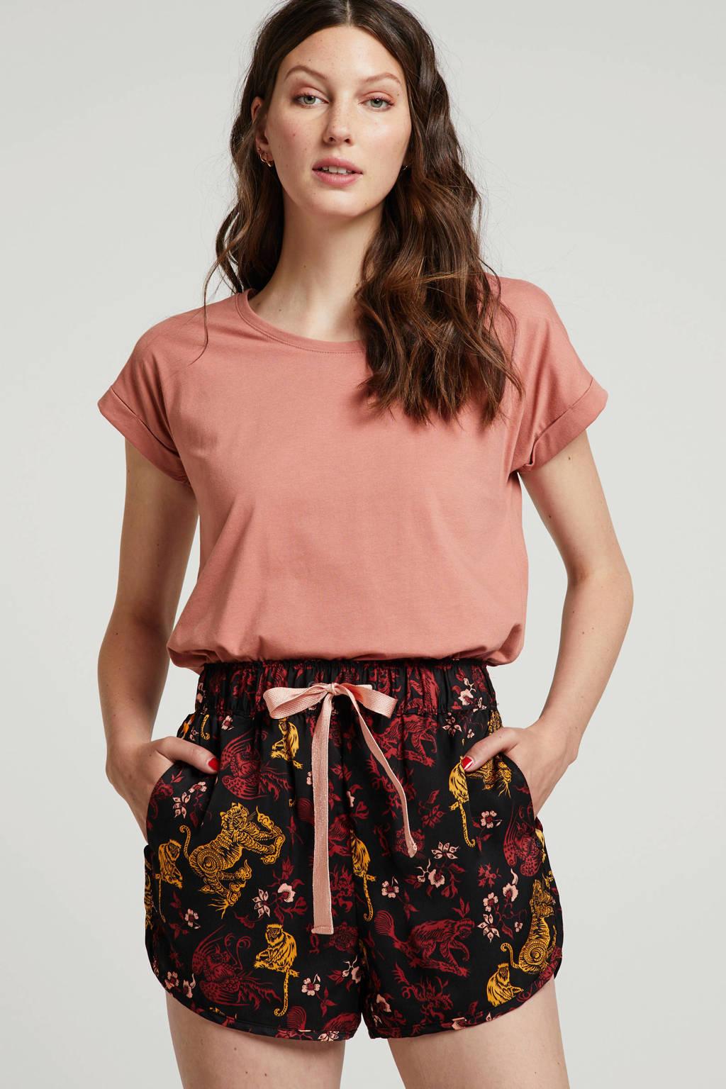VILA T-shirt oudroze, Oudroze