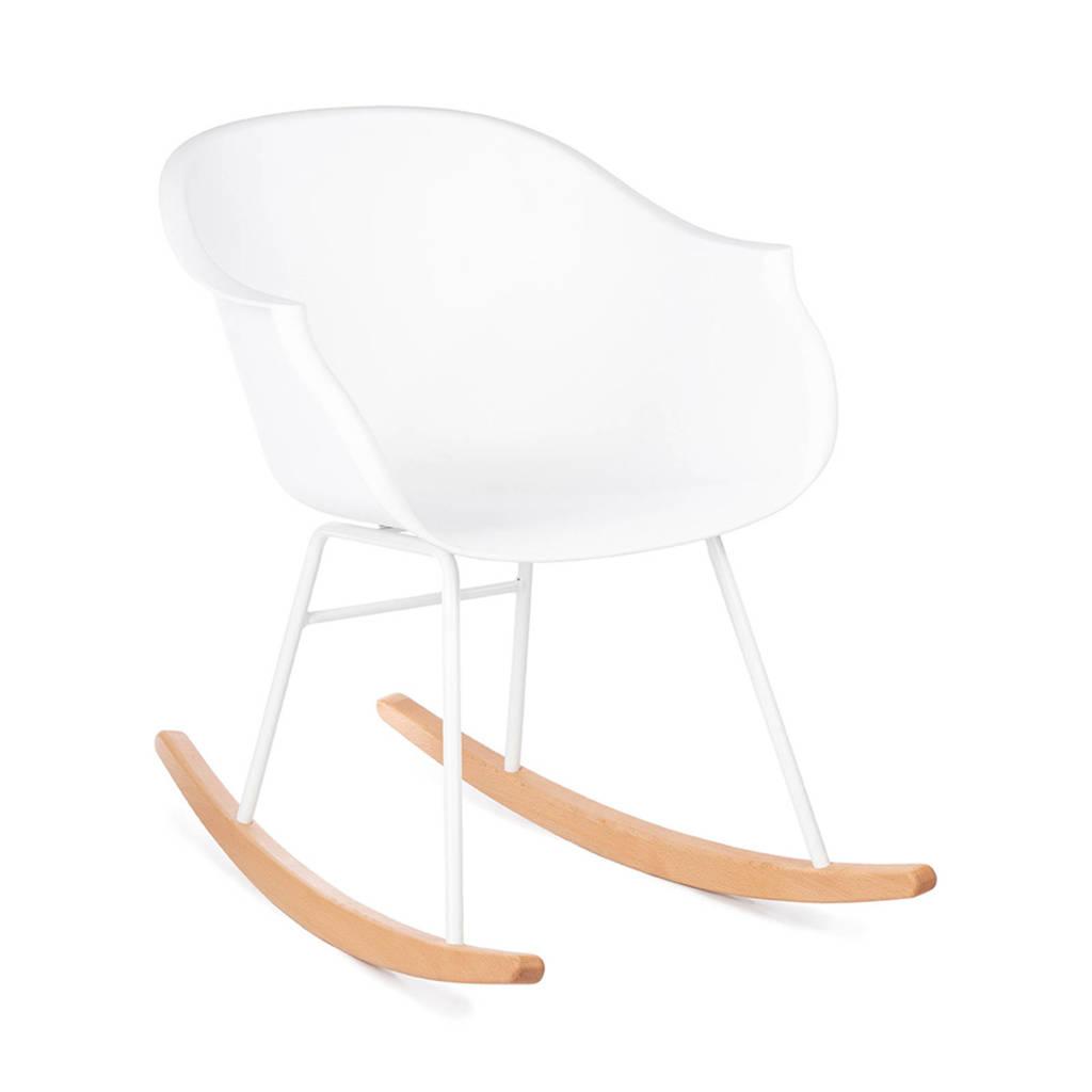 Kidsdepot schommelstoel Jazzy, Wit