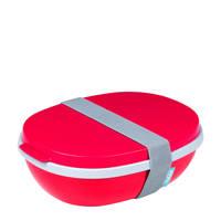 Mepal Ellipse lunchbox (3-delig), Rood
