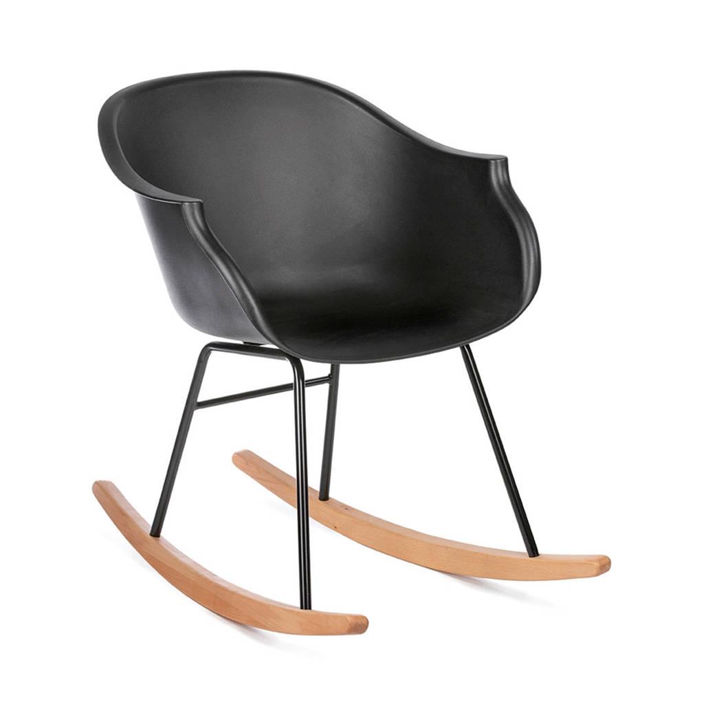 Kidsdepot schommelstoel Jazzy, Zwart