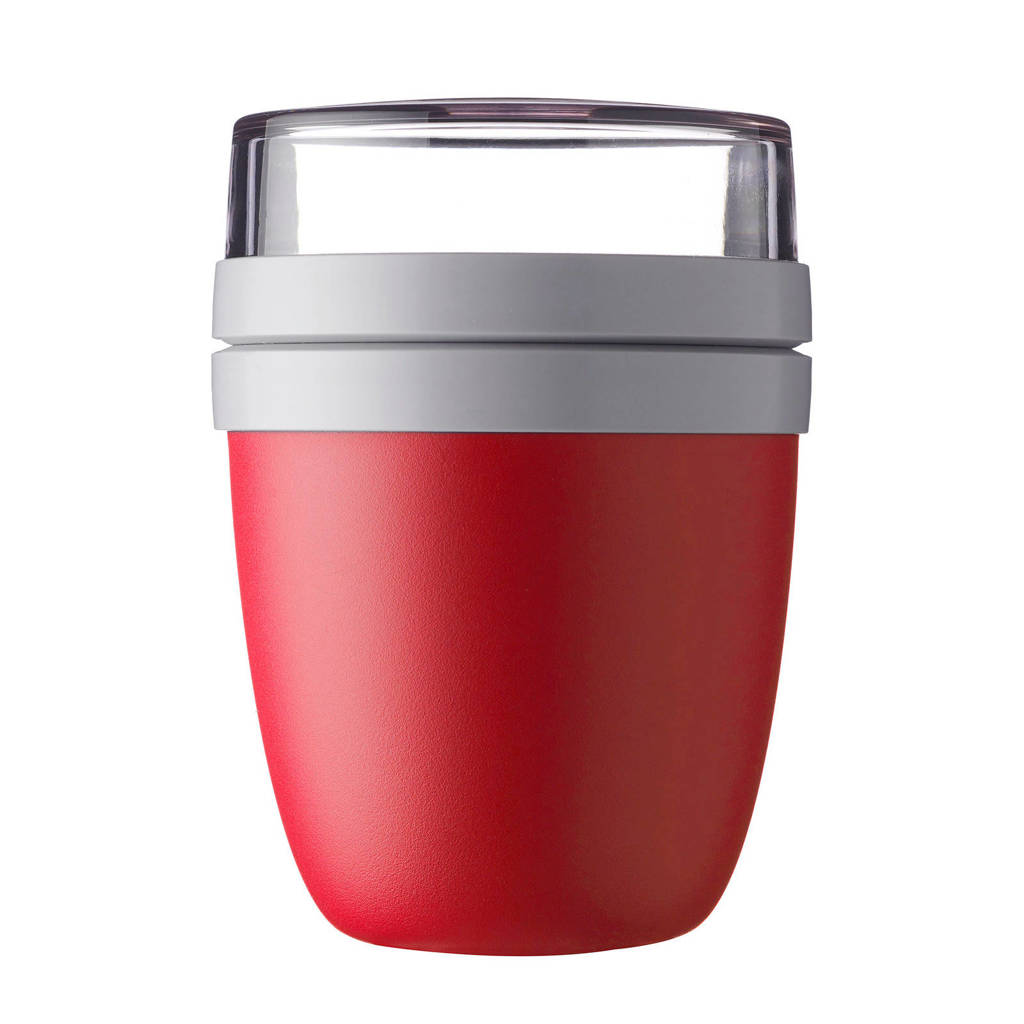 Mepal Ellipse lunchpot (2-delig), Rood