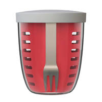 Mepal Ellipse fruit & veggiepot, Rood