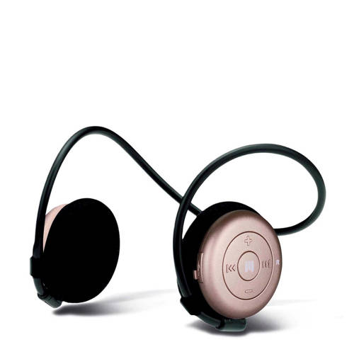 on-ear bluetooth koptelefoon AL3+ Women roze goud
