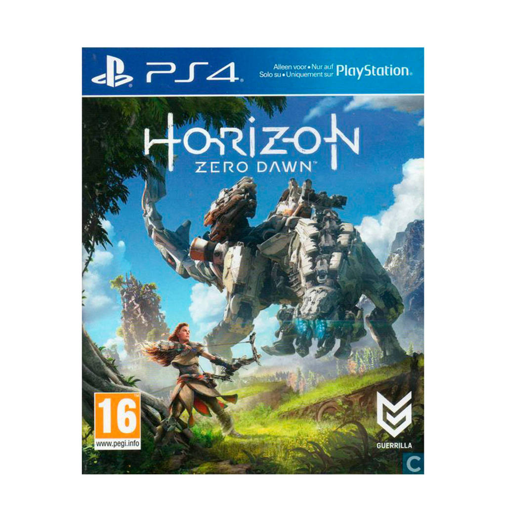 Horizon Zero Dawn (PlayStation 4), -