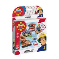 Totum  Brandweerman Sam Mosaic Set