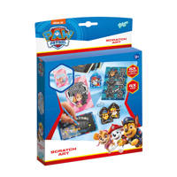 Totum  Paw Patrol Scratch Art Dog Tags