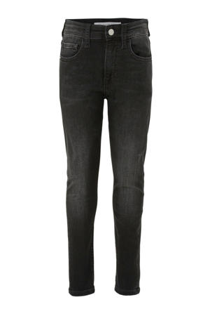 tapered fit jeans zwart (city black)