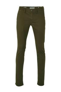 No Excess slim fit broek groen, Groen