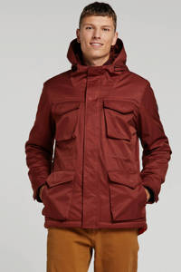 No Excess winterjas rood, Rood
