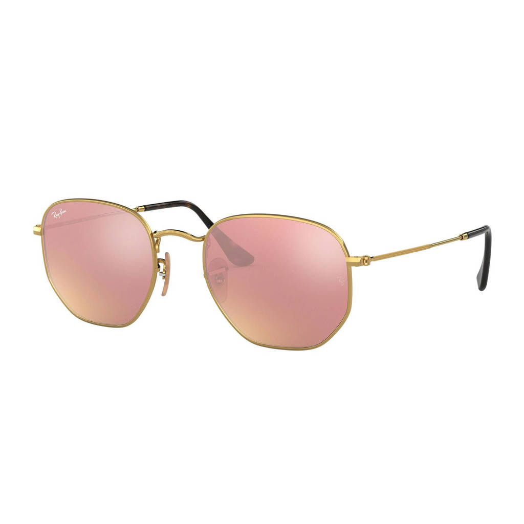 Ray-Ban zonnebril 0RB3548N, Koper