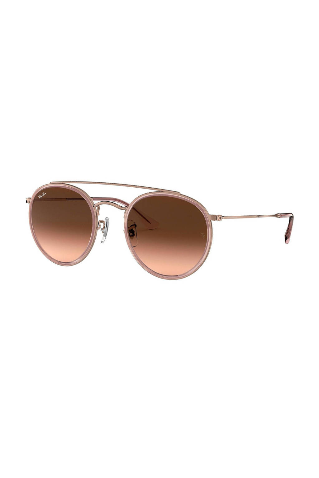 Ray-Ban zonnebril 0RB3647N, Roze/bruin
