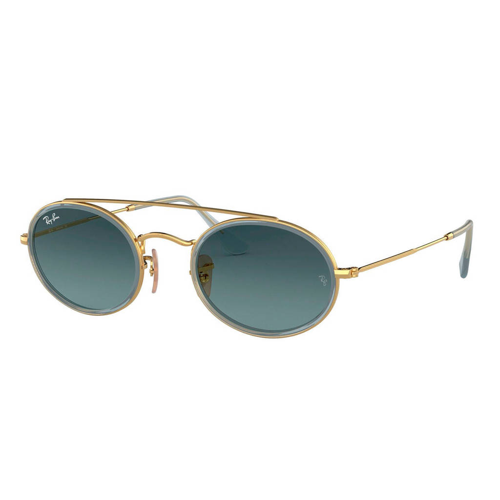 Ray-Ban zonnebril 0RB3847N, Blauw/grijs