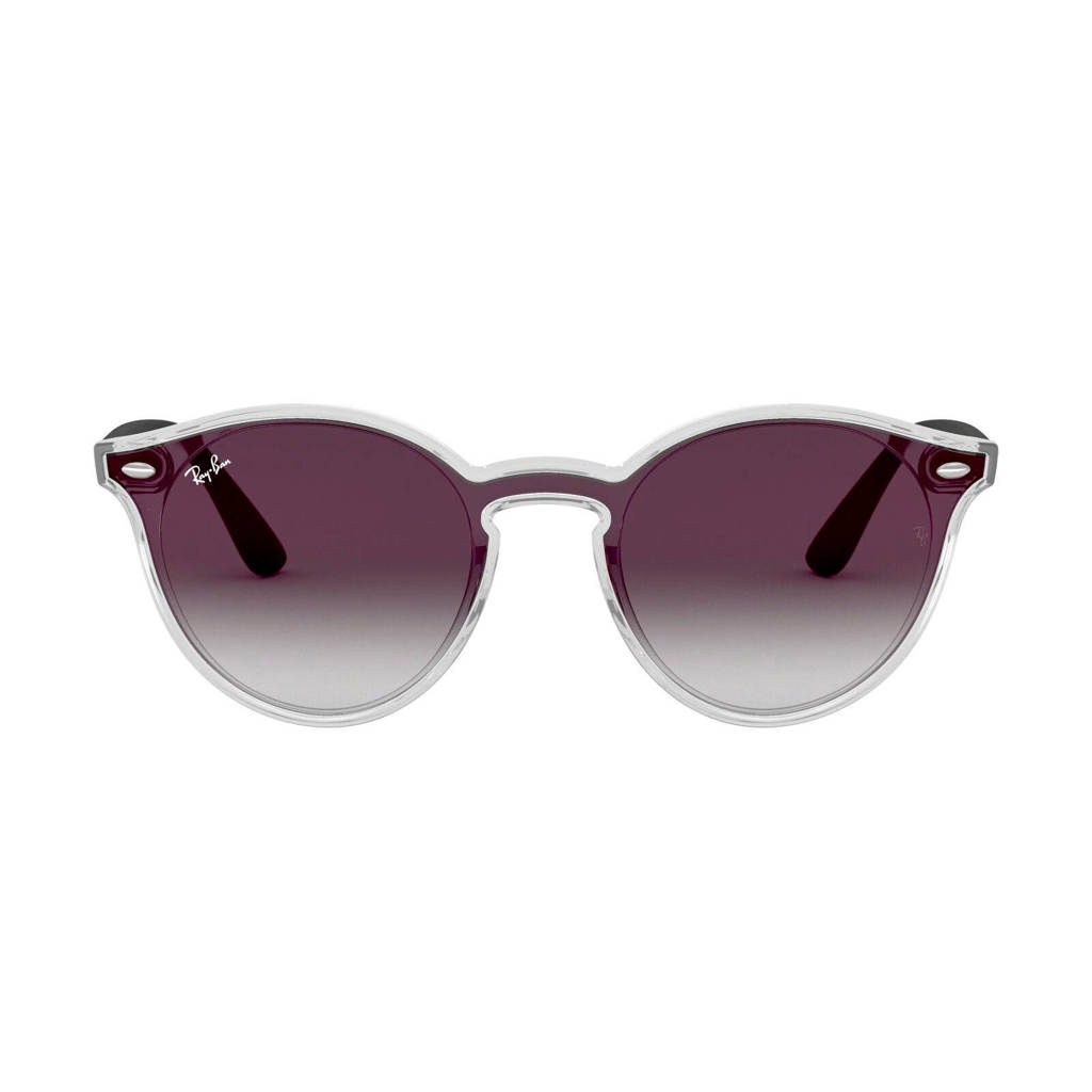 Ray-Ban zonnebril 0RB4380N, Grijs/rood