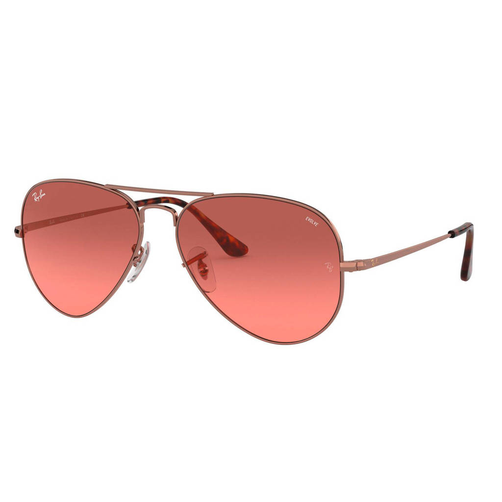 Ray-Ban zonnebril 0RB3689, rood/bordeaux