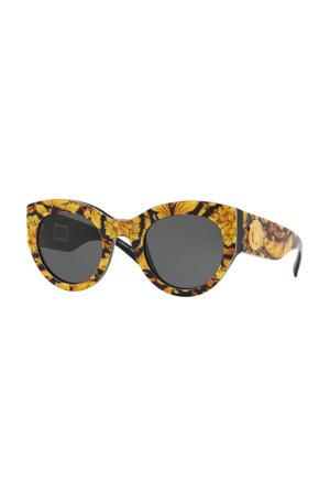 zonnebril 0VE4353 zwart/geel