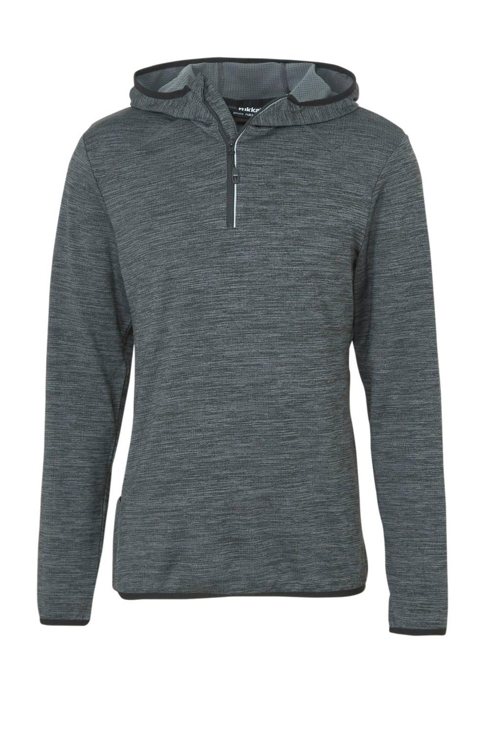 Rukka   hardloopsweater Majalahti antraciet, Antraciet