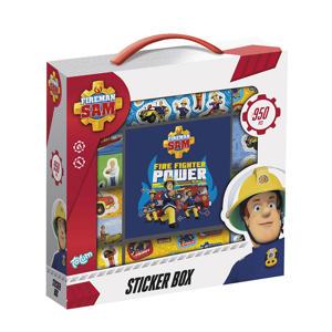 Brandweerman Sam Sticker Box 12R+2S+Book