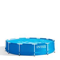 Intex Metal Frame zwembad (Ø366x76 cm) met filterpomp