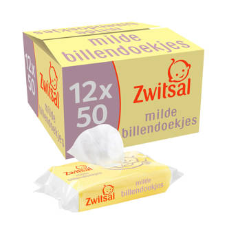 extra gevoelig huidje 12x50 milde billendoekjes