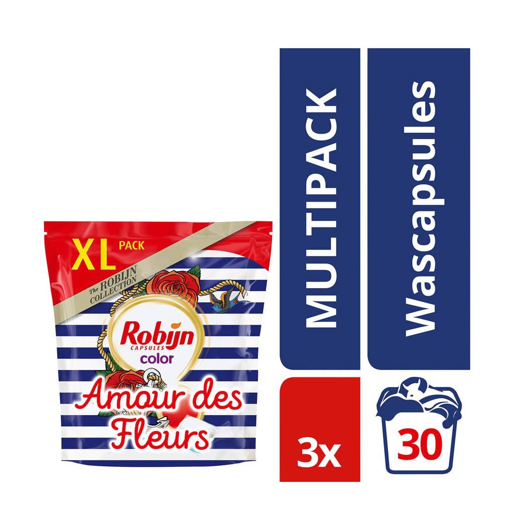 Robijn Amour des Fleurs wasmiddel kleur - 90 wasbeurten - duo wascapsules