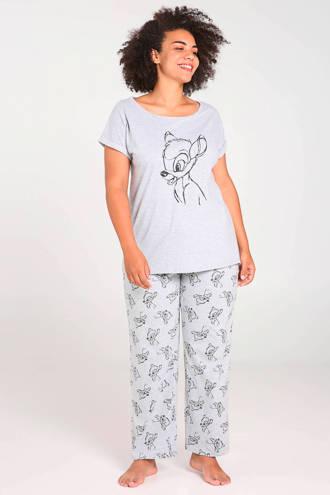pyjamatop Bambi grijs