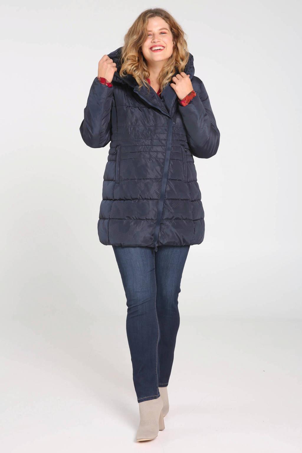 Paprika winterjas donkerblauw, Donkerblauw