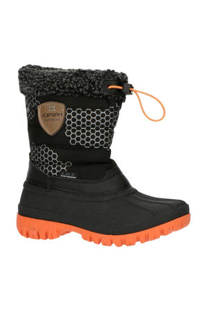 Atka Jr  snowboots zwart/oranje kids