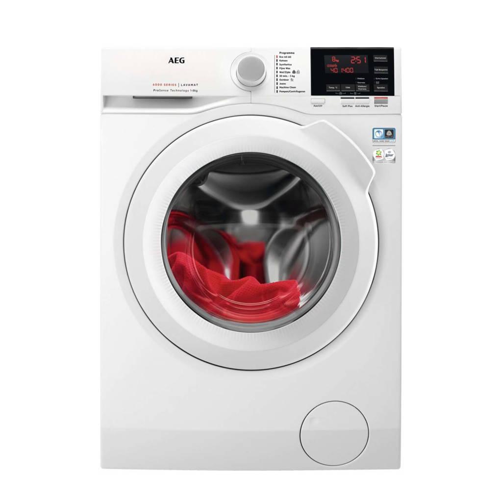 AEG L6FBN84GP wasmachine