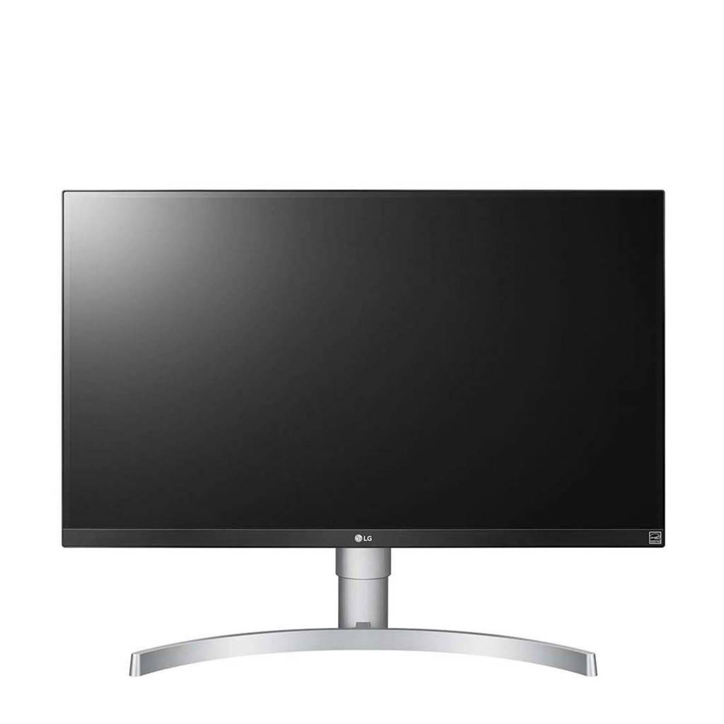 LG 27UL650 27  inch 4k UHD monitor, Zilver