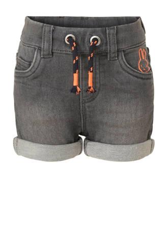 nijntje jeans short met printopdruk