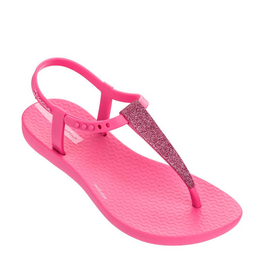 Ipanema   Charm sandalen met glitters roze, Roze