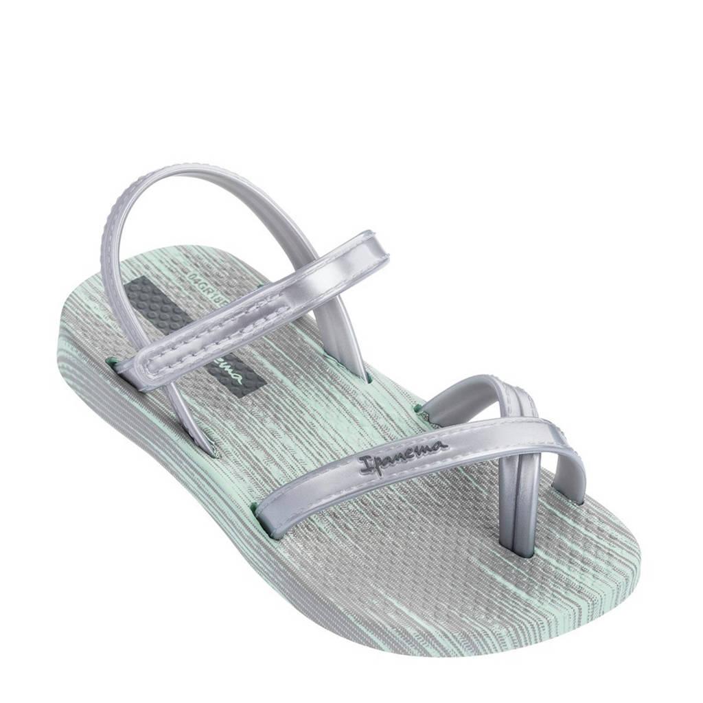 Ipanema Fashion sandalen zilver, Zilver/groen