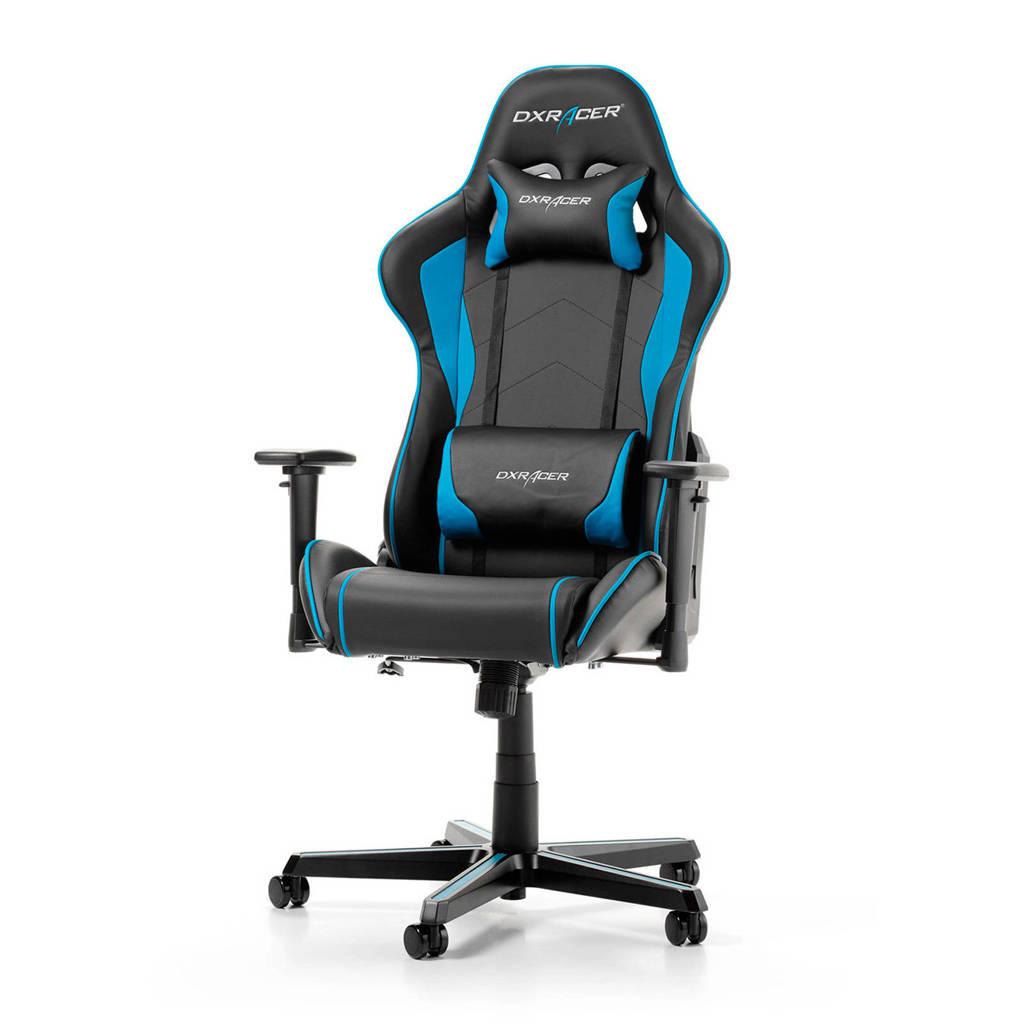 DXRacer FORMULA gamestoel zwart/blauw, Blauw, zwart