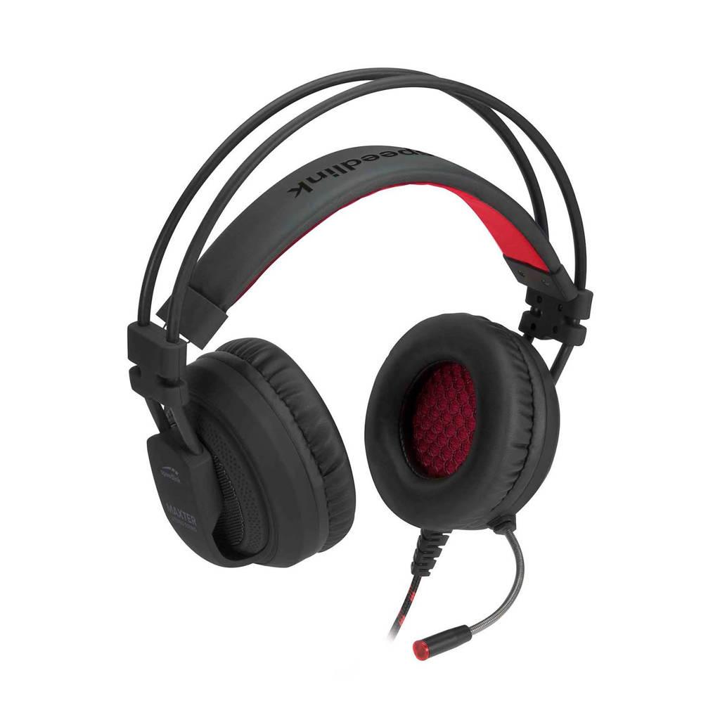 Speedlink  Maxter stereo gaming headset (PS4), Zwart