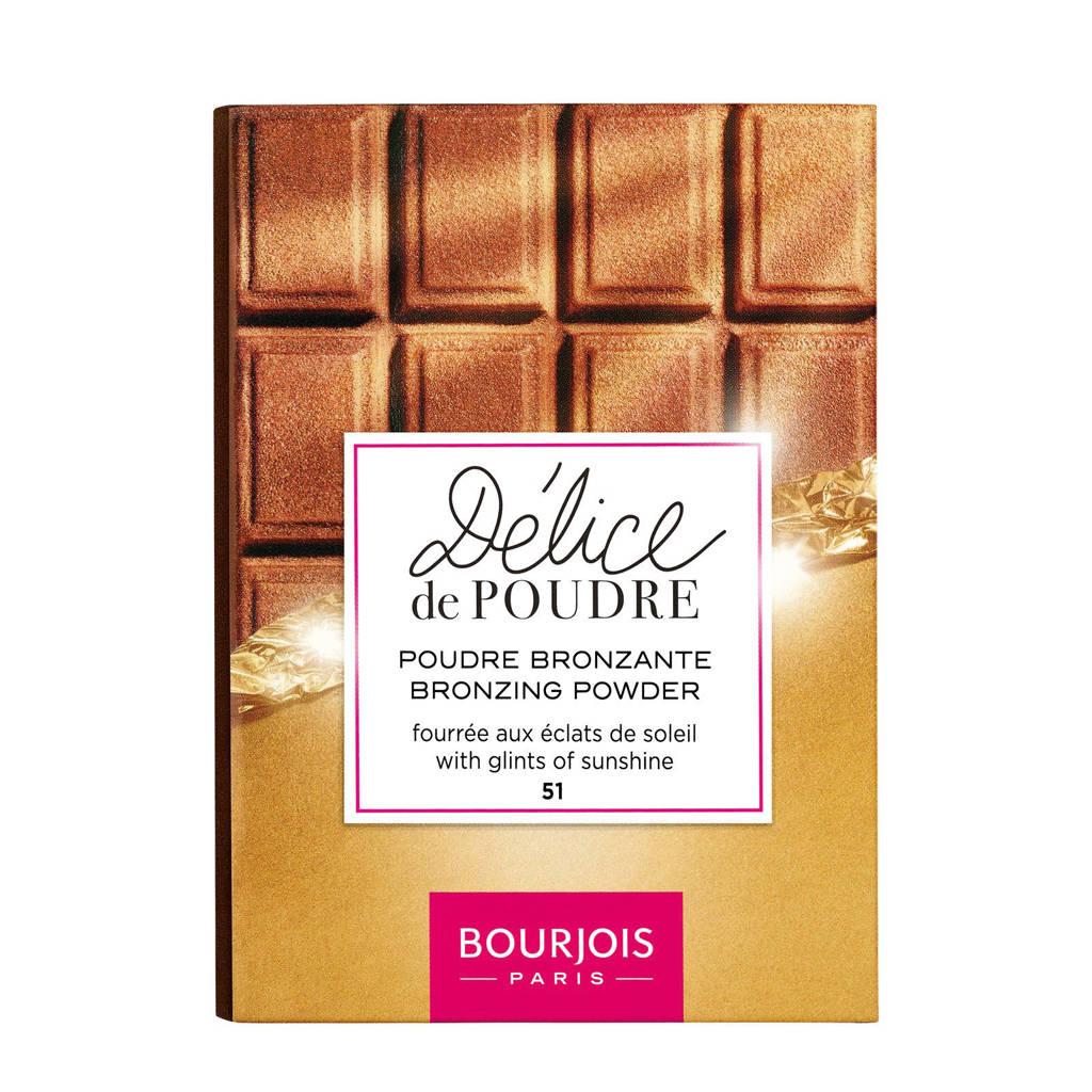 Bourjois Delice De Poudre Bronzer - 51 Peaux Claires/Médianes