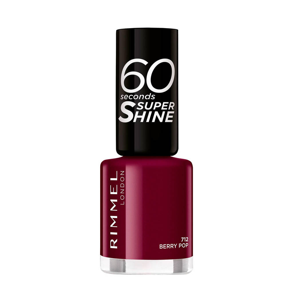 Rimmel London 60 seconds nagellak - Purple 712, 712 Purple
