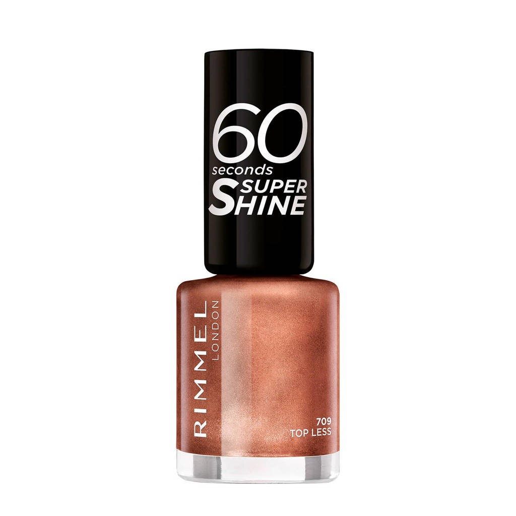 Rimmel London 60 seconds nagellak - Terracotta shimmer 709, 709 Terracotta shimmer