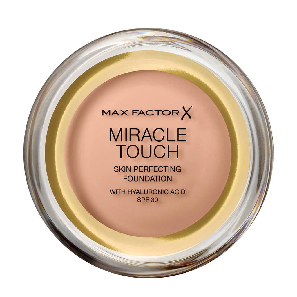 Max Factor Miracle Touch Compact  45 Warm Almond Foundation, 045 Warm Almond
