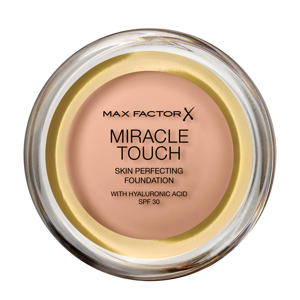 Miracle Touch Compact  45 Warm Almond Foundation