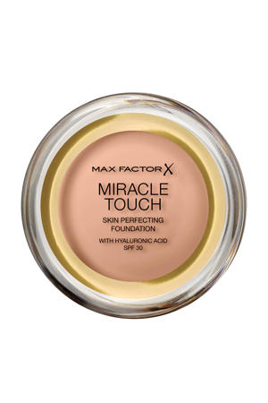 Miracle Touch Compact Foundation - 45 Warm Almond