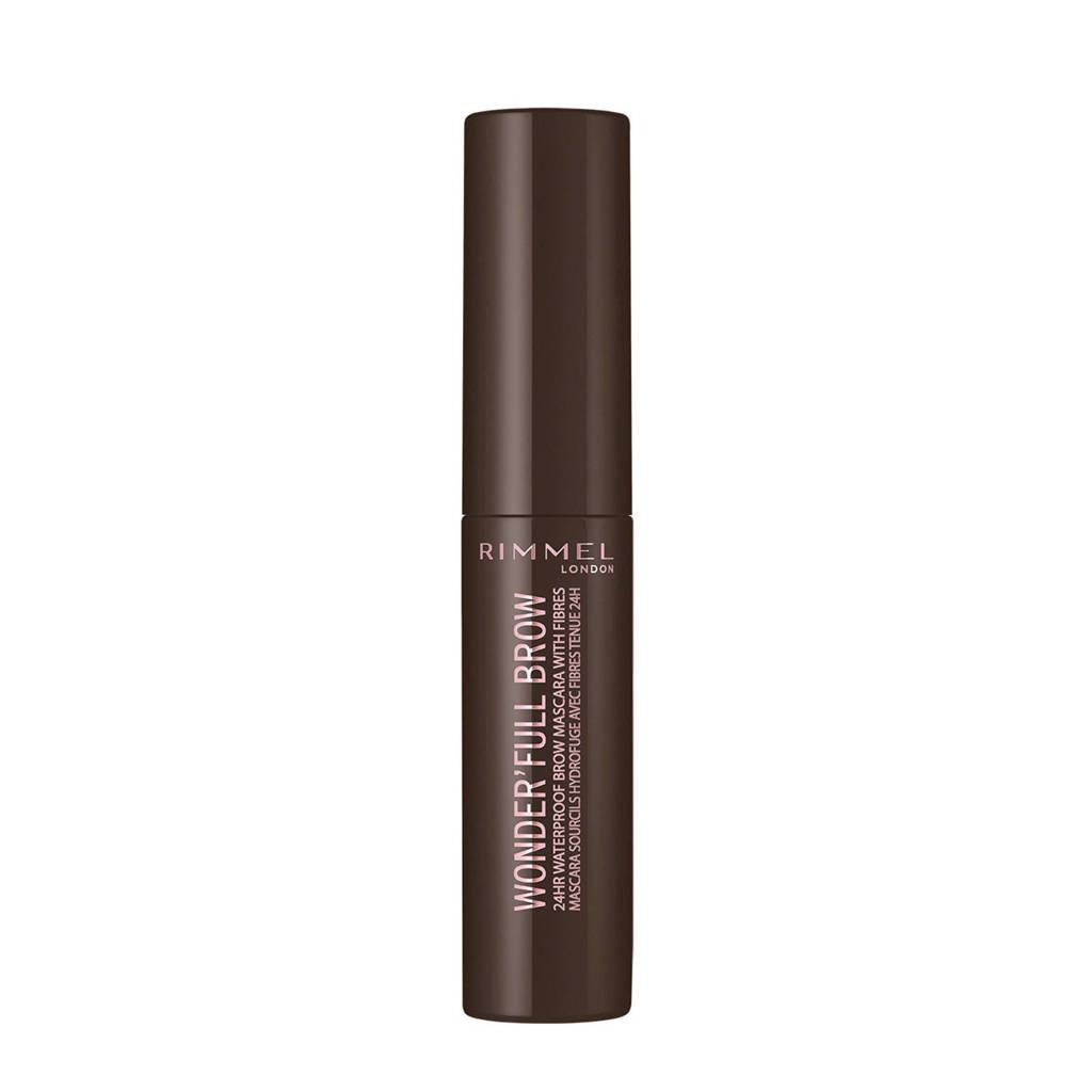 Rimmel London Wonder'full 24 Hour Brow Mascara - 003 Dark brown, 003 Dark Brown