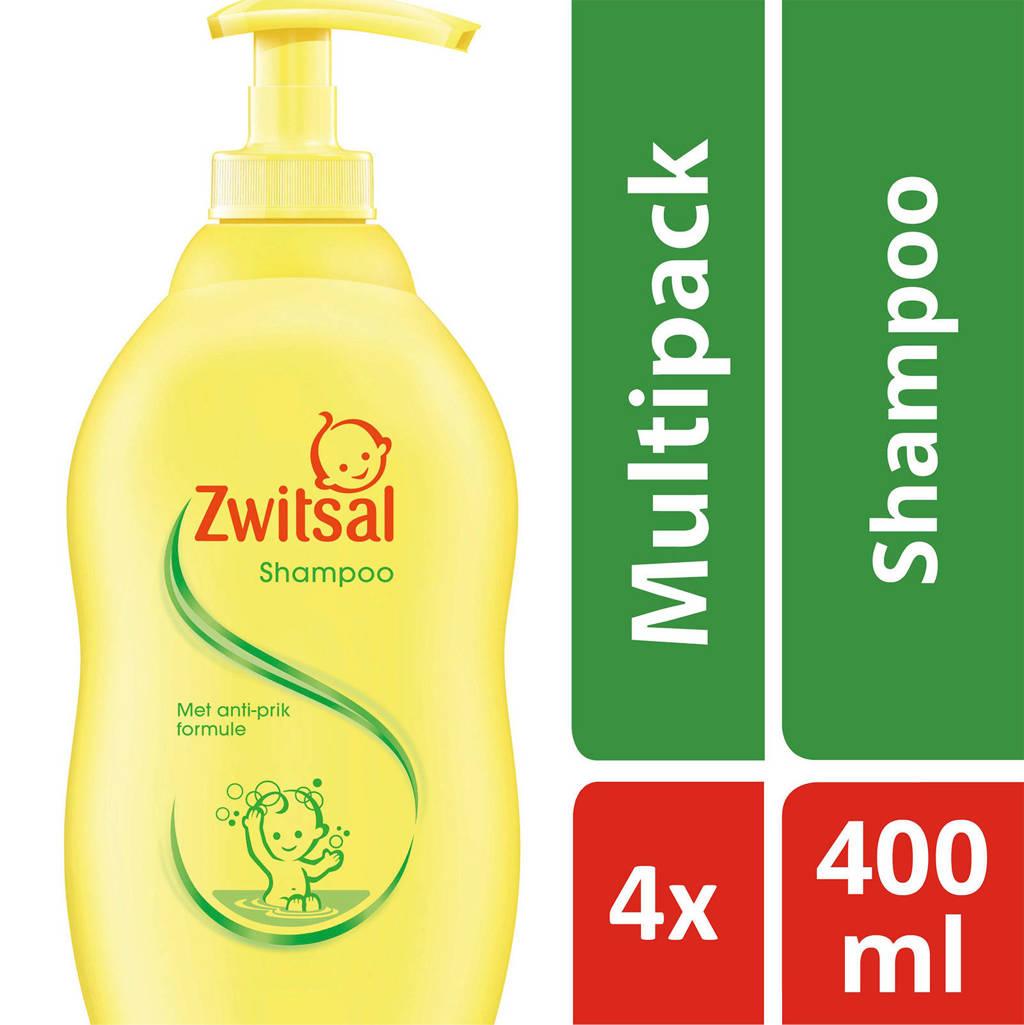 Zwitsal shampoo pomp - 4x400 ml - baby