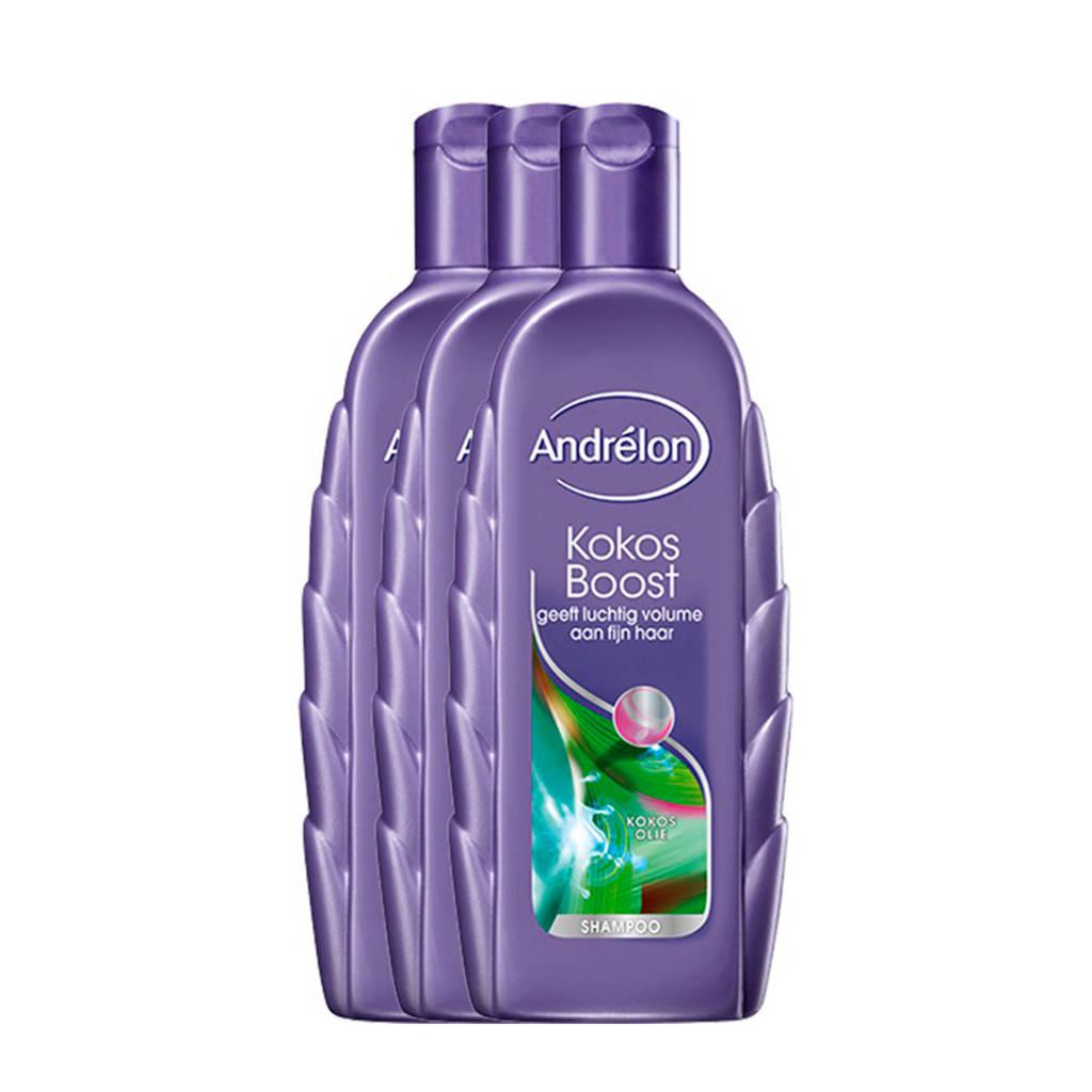Andrelon Special Kokos Boost shampoo - 3x300 ml, 3 x 300 ml