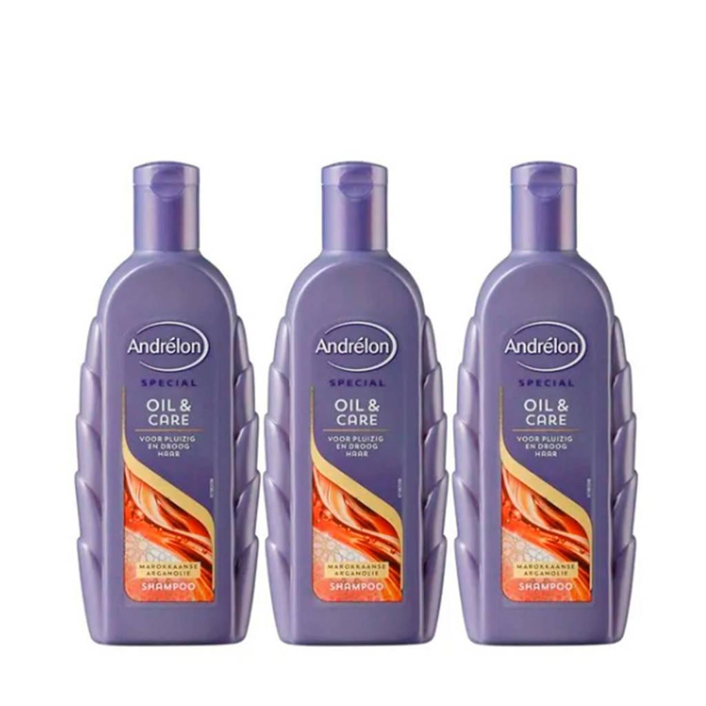 Andrelon Special Oil & Care shampoo - 3x300 ml, 3 x 300 ml