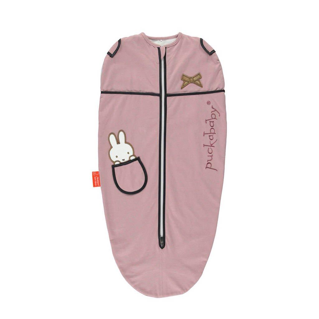 Puckababy Nijntje The Original Mini Nijntje baby inbakerdoek 3-6 mnd roze, Nijntje Candy
